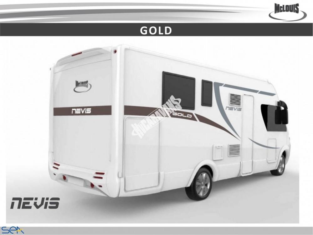 Celointegrovaný obytný vůz NEVIS 73G model 2018  DIAMOND STYLE skladem č.16