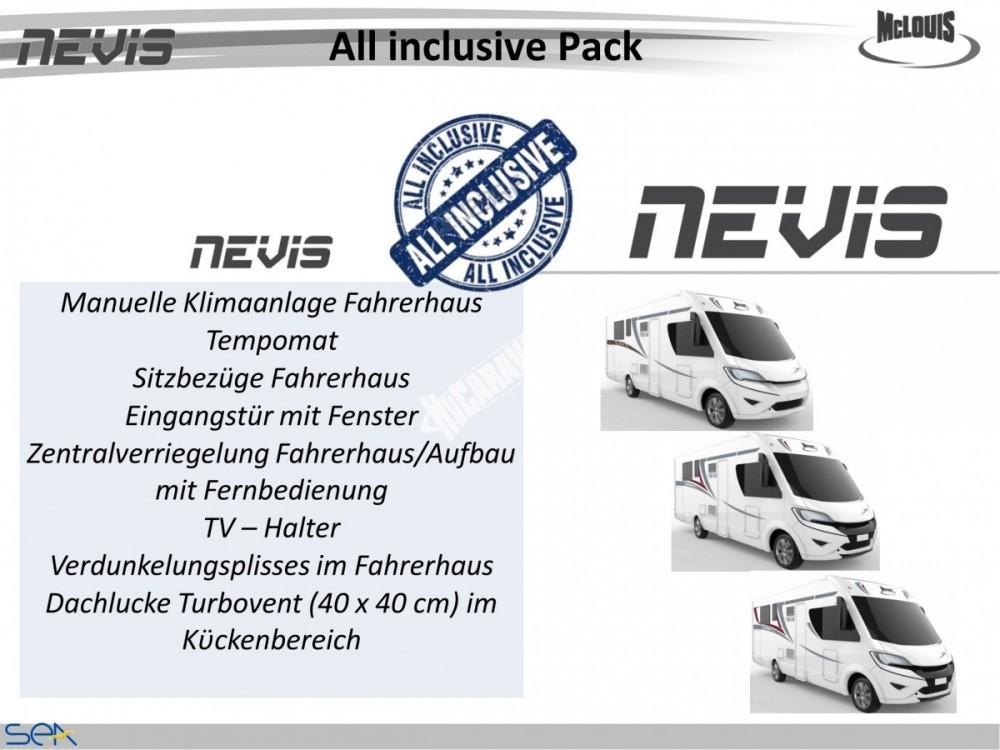 Celointegrovaný obytný vůz NEVIS 73G model 2018  DIAMOND STYLE skladem č.28