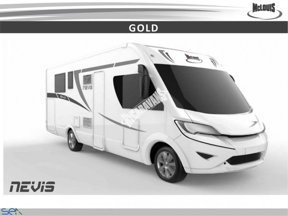 Celointegrovaný obytný vůz NEVIS 80 G model 2018 GOLD