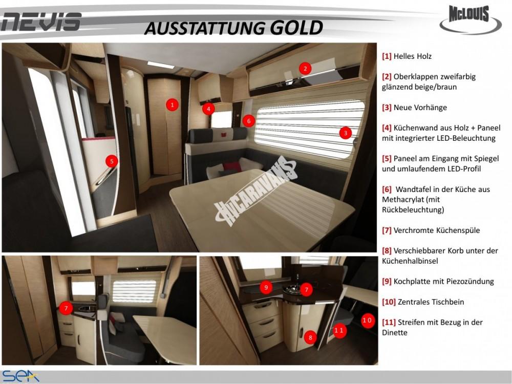 Celointegrovaný obytný vůz NEVIS 80 G model 2018 GOLD č.17