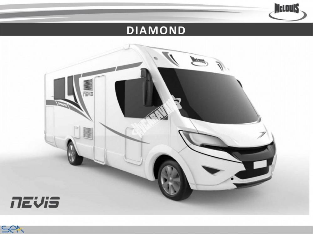 Celointegrovaný obytný vůz NEVIS 80 G model 2018 GOLD č.6