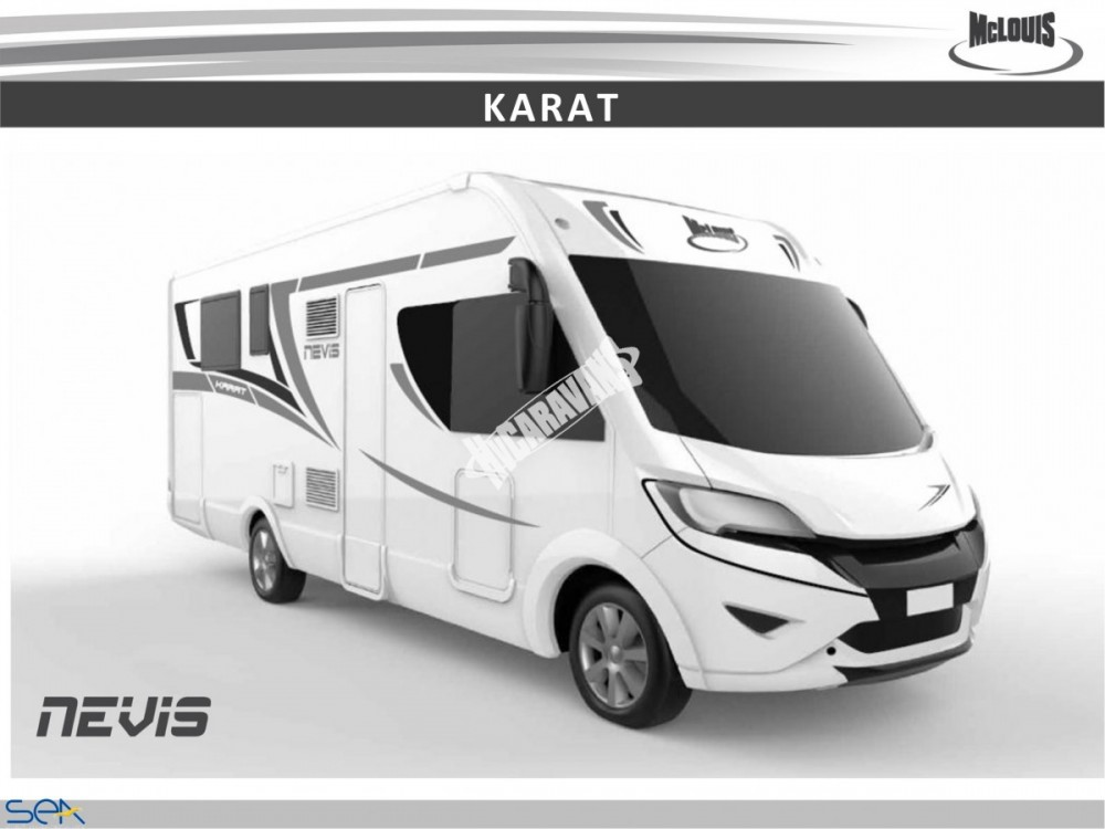 Celointegrovaný obytný vůz NEVIS 80 G model 2018 GOLD č.8