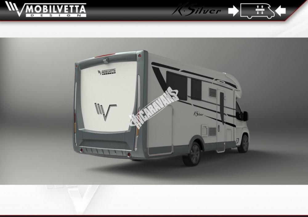 Polointegrovaný obytný vůz Mobilvetta K.Silver 56 model 2018 termín dodání skladem Mar Lázně č.15