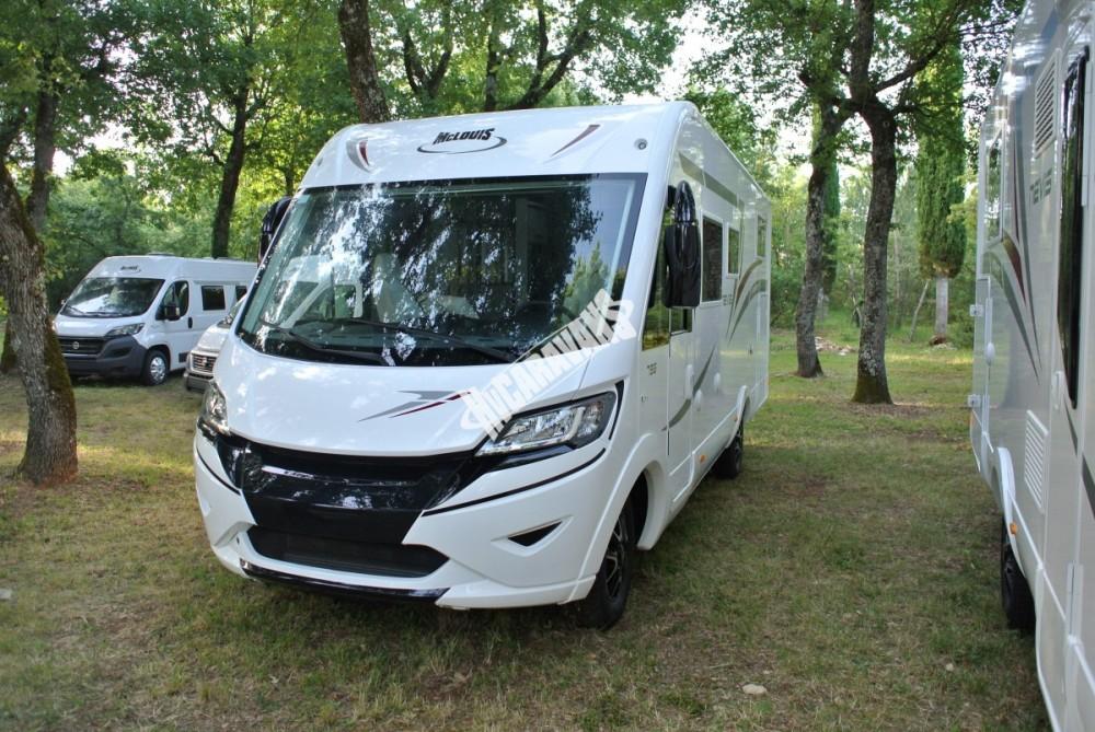 Celointegrovaný obytný vůz NEVIS 79 G model 2017 KARAT skladem ihned k odběru