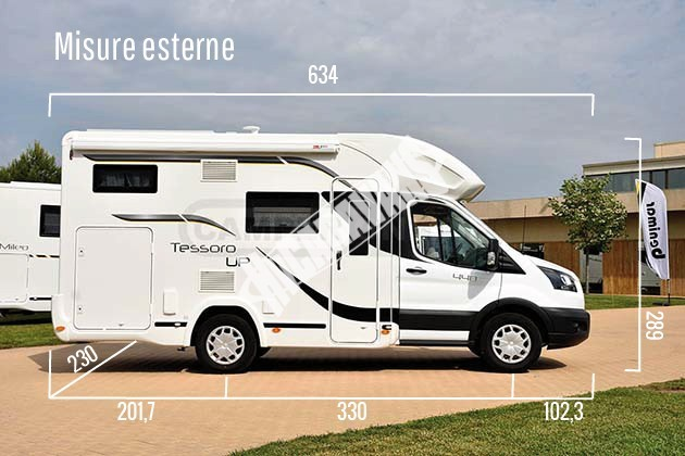 Obytný vůz Benimar Tessoro  UP 440 Limitovaná edice  2018 Top výbava,cena  záruka FORD na  5 let !!! č.5