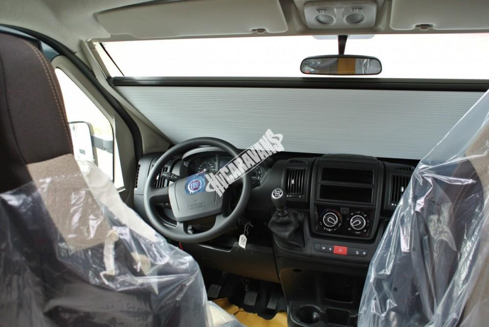 Polointegrovaný obytný vůz Mobilvetta K.Silver 56 model 2018 termín dodání skladem Mar Lázně č.49