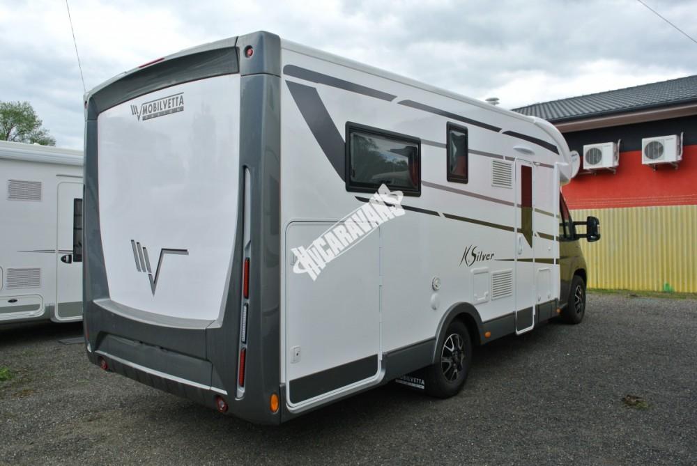 Polointegrovaný obytný vůz Mobilvetta K.Silver 56 model 2018 termín dodání skladem Mar Lázně Prodáno č.54