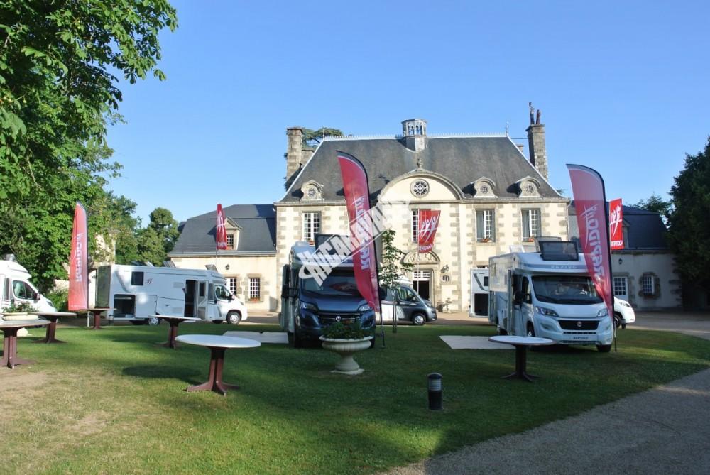 Modely 2018 RAPIDO  Francie Mayenne 19 až 20.6.2017