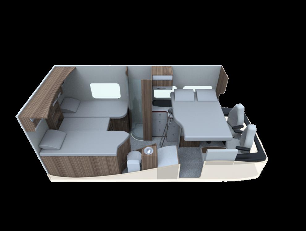 AUTOSTAR PRIVILEGIE Polointegrovaný 690 LJ model 2018 skladem 11/2017 č.17