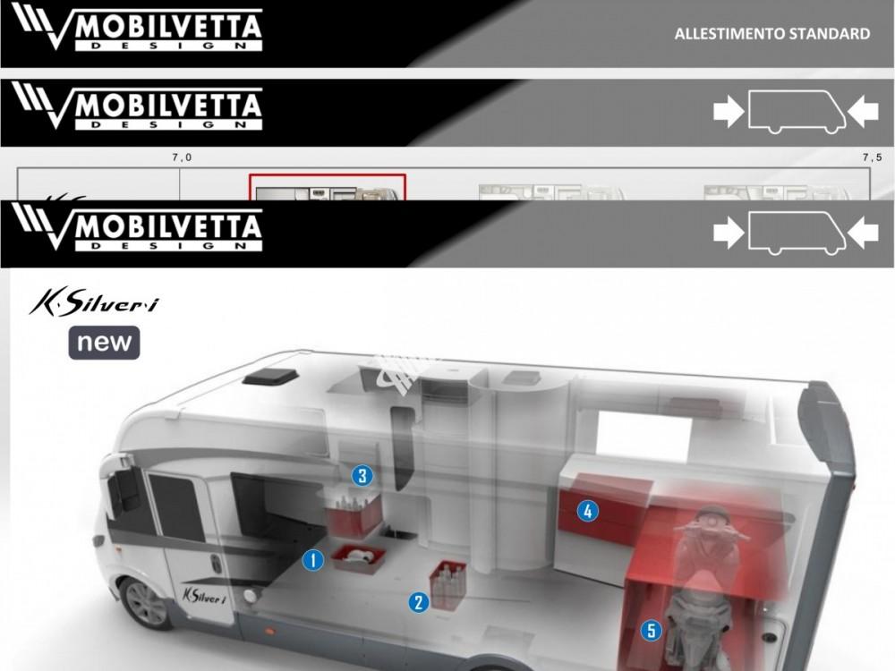 Celointegrovaný obytný vůz Mobilvetta I.Silver 56 model 2018 skladem Mar-Lázně Rezervace č.15