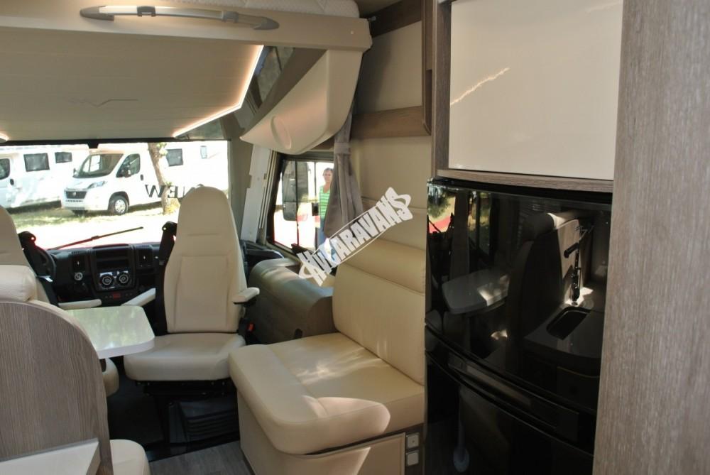 Celointegrovaný obytný vůz Mobilvetta I.Silver 56 model 2018 skladem Mar-Lázně Rezervace č.48