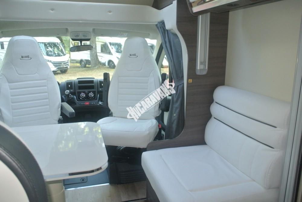 Polointegrované obytné auto MC4 73G model 2018 DIAMONT SILVER  Prodáno č.23