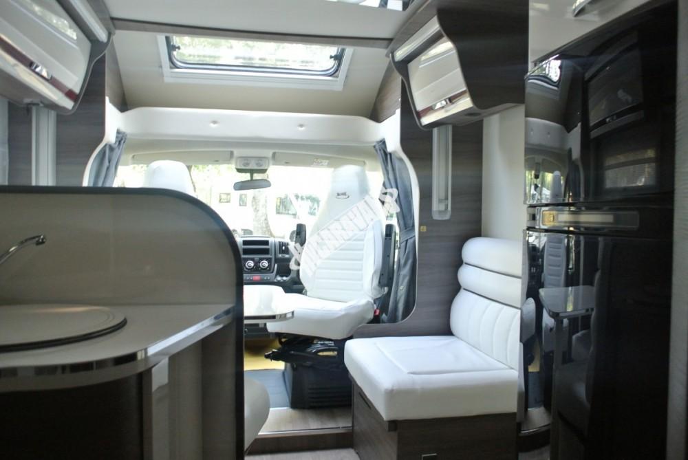 Polointegrované obytné auto MC4 73G model 2018 DIAMONT SILVER  Prodáno č.30