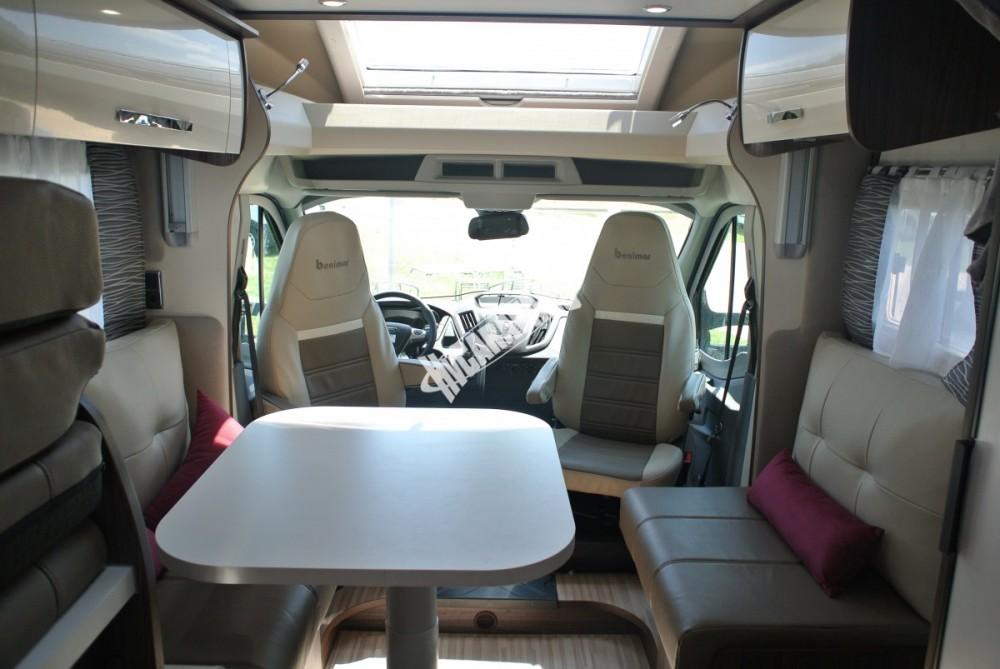 BENIMAR Tessoro  467 model 2018 170 PS skladem 10/2017 spouštěcí zadní lůžka / TOP záruka FORD na  5 let !!! č.38