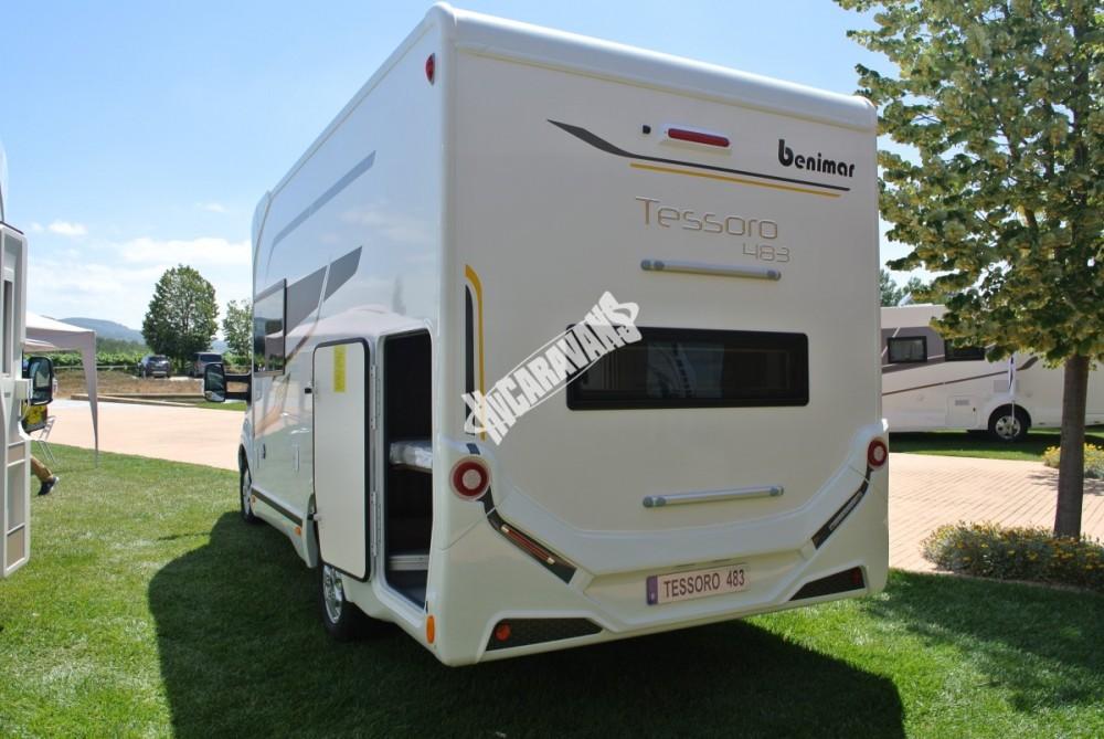 Obytný vůz Benimar Tessoro  483 model 2018 č.14