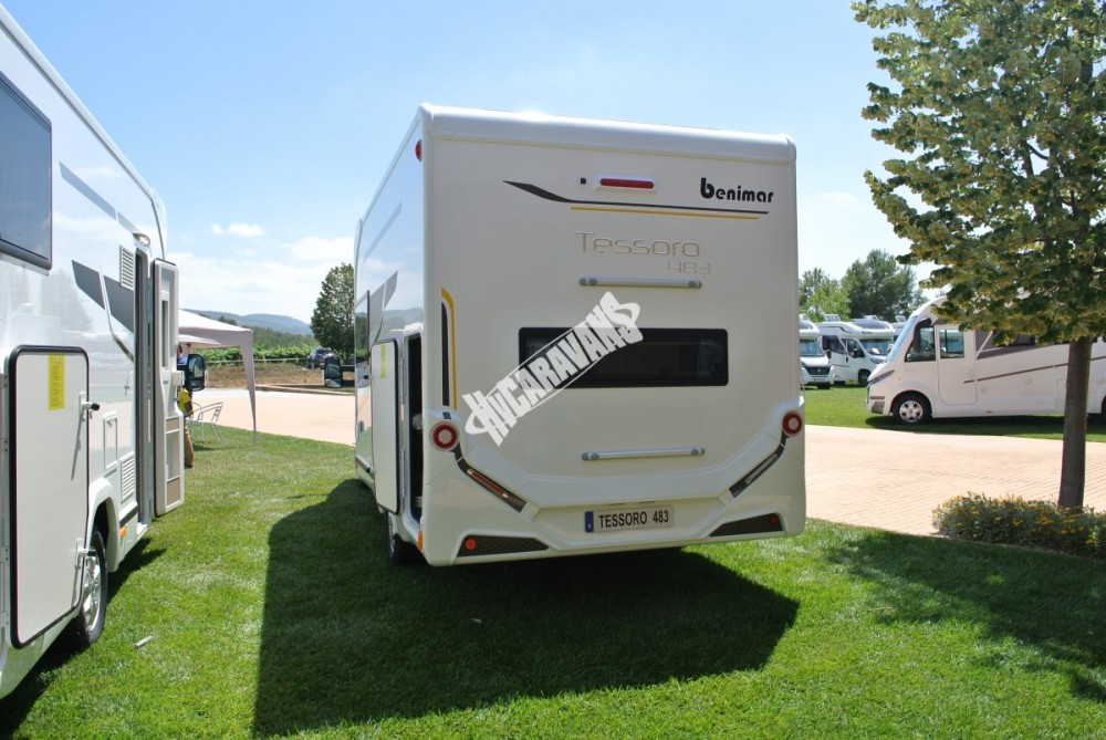 Obytný vůz Benimar Tessoro  483 model 2018 č.15