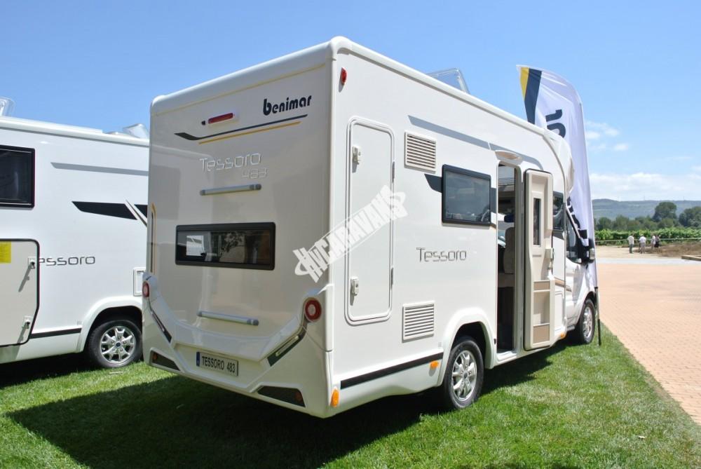 Obytný vůz Benimar Tessoro  483 model 2018 č.16