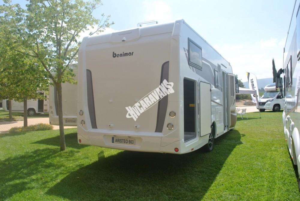 Obytný vůz Benimar Aristeo A 663 FIAT 150 PS Vista Pack skladem  Prodáno č.13