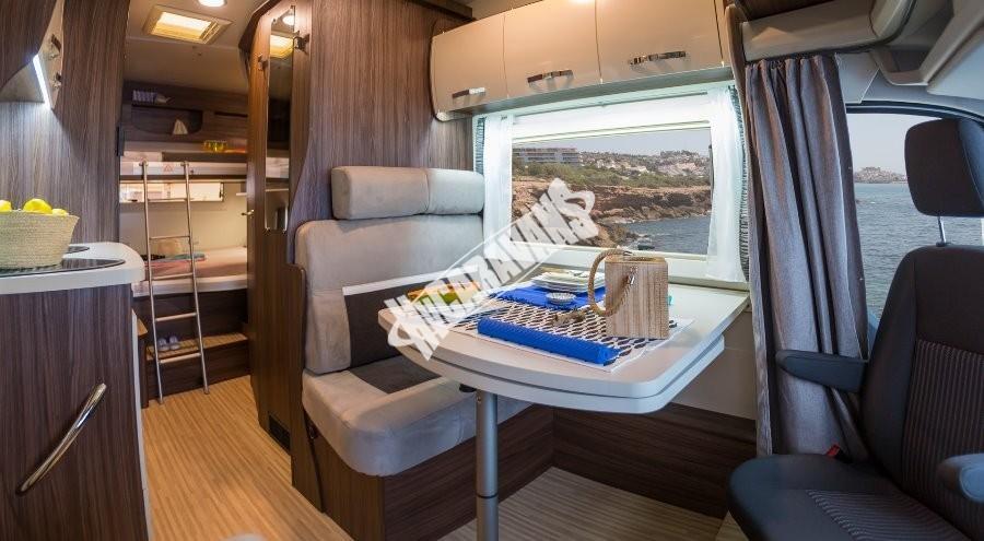 Obytný vůz Benimar SPORT 340 UP FORD 170 PS, akční série TOP výbava+ cena,  Skladem 4/2018 Prodáno č.41