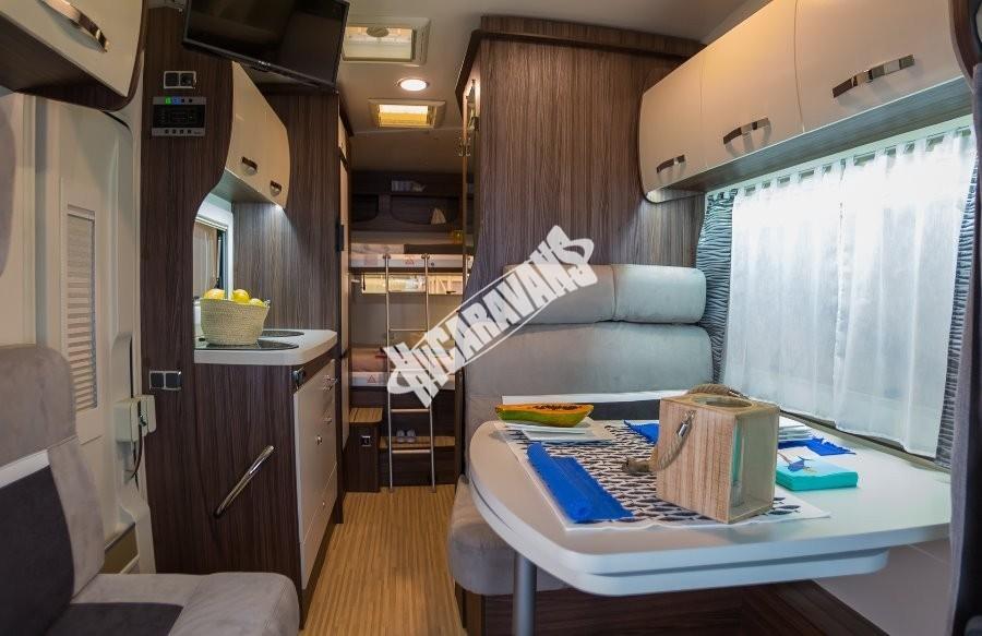 Obytný vůz Benimar SPORT 340 UP FORD 170 PS, akční série TOP výbava+ cena,  Skladem 4/2018 Prodáno č.42