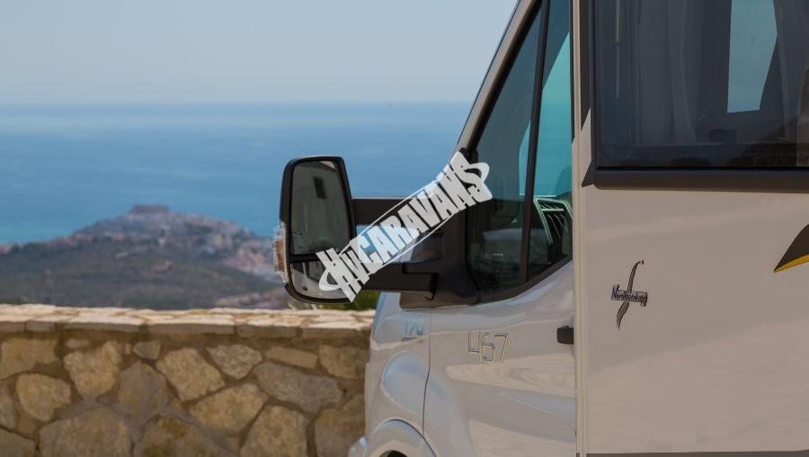 BENIMAR Tessoro  467 model 2018 170 PS skladem 10/2017 spouštěcí zadní lůžka / TOP záruka FORD na  5 let !!! č.60