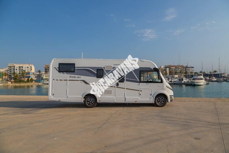 Obytný vůz Benimar Aristeo A 663 FIAT 150 PS+automat převody celointegrovaný  model 2018 Prodáno