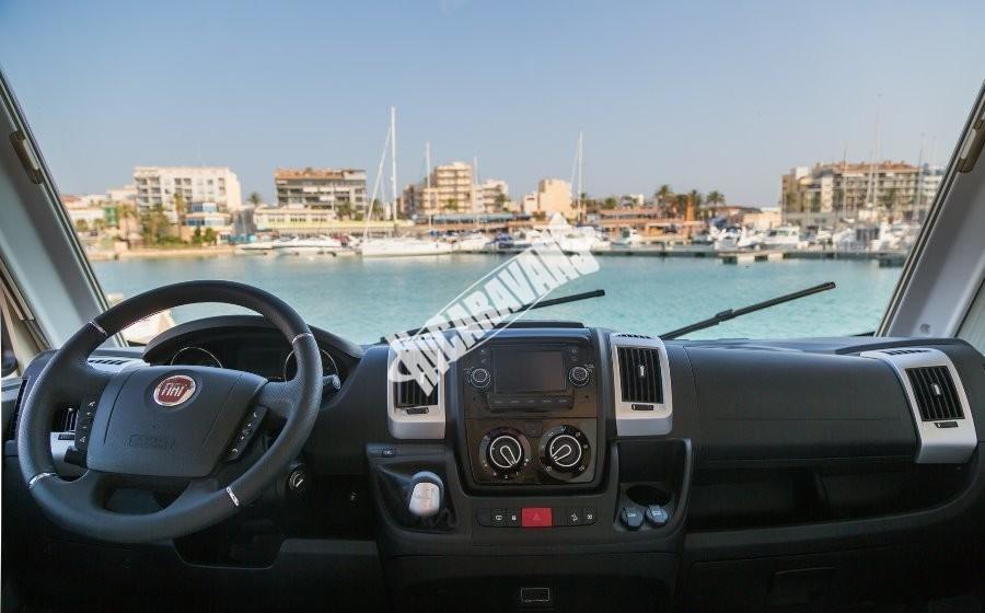 Obytný vůz Benimar Aristeo A 663 FIAT 150 PS Vista Pack skladem  Prodáno č.37
