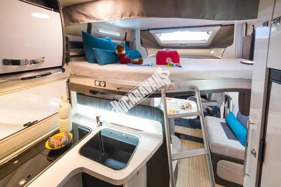 Obytný vůz Benimar Mileo 296 nový model 2018 skladem Mar-Lázně Prodáno č.29