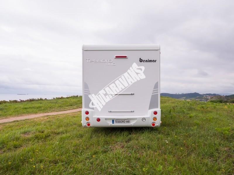 Obytný vůz Benimar Tessoro  UP 440 Limitovaná edice  2018 Top výbava, skladem Mar-Lázně,vůz na SPZ,registrovaný,odpočet DPH není možný,stav km 1020. č.66